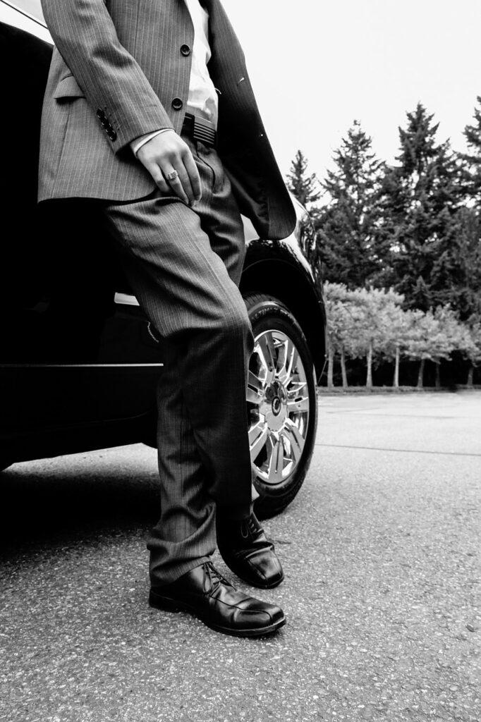 handsome, man, suit