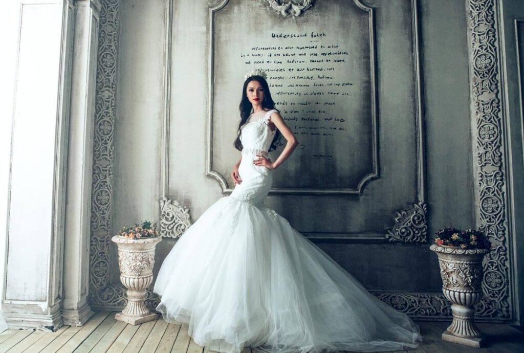 what is mermaid gown