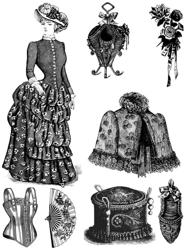 bend corset 1900 fashion history