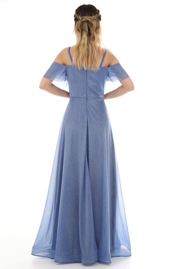 empire waist dress features