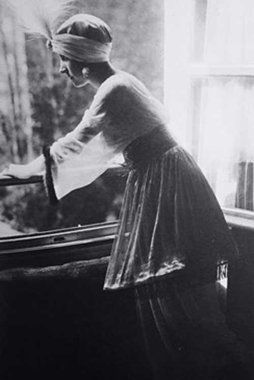lampshade tunic 1910 fashion history