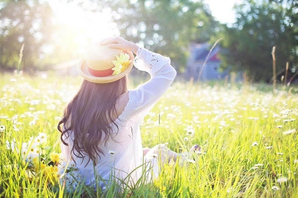 shields skin from harmful UV rays