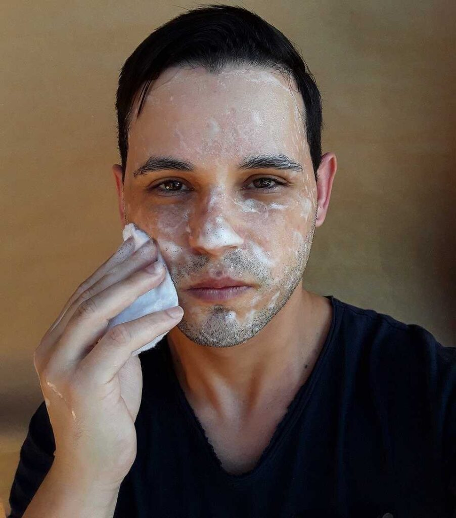 cleansing-daily skin care routine